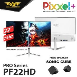 "Armaggeddon Gaming Monitor Pixxel+ Pro PF22HD 22"" AHVA Panel"