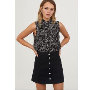H&M Divided Shirt Top Polka Pakaian Branded Original Murah