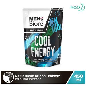 Men's Biore Body Foam Cool Energy 450ml