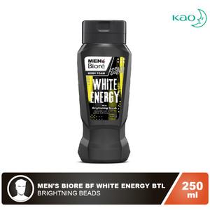 MEN'S BIORE Body Foam White Energy Btl 250 ml