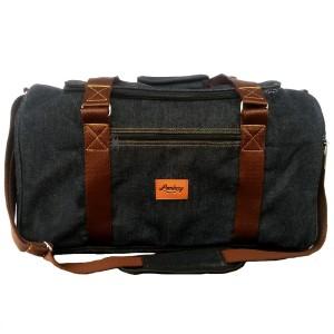Lomberg Denim Duffel Blaxx - Tas Travel dan Fitness - Black