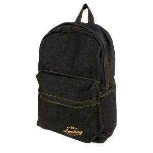 Lomberg BLAXX Backpack - Tas Ransel Denim - Hitam