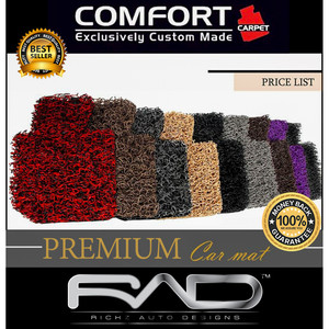 Karpet Comfort Premium Lexus NX 300 thn 2015 Full Bagasi