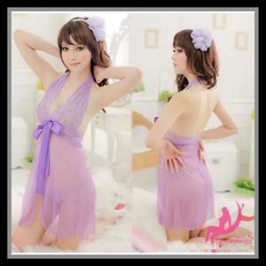 Lingerie Sleepwear Pakaian Dalama LNG 05 Softpurple