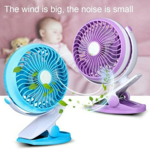 KIPAS ANGIN MINI USB JEPIT / HANDY FAN MINI JEPIT V-680 BATRERAI CAS