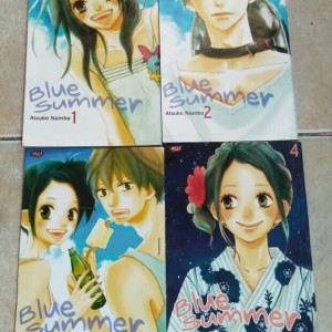 blue summer 4eps by. atsuko nanba - on going