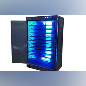 Mesin oven 10 rak 2 pintu dilengkapi lampu UV