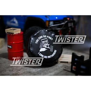 Atees Leather Tire Cover For 1.9 Crawler Tires - You Can Go Fast