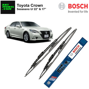 Wiper Mobil Toyota Crown Frame Bosch Advantage