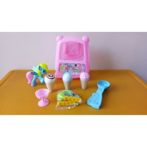 Mainan Koper Ice Cream Little Pony