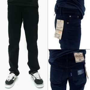 Celana jeans standar wrangler pria