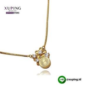 XUPING KALUNG BANDUL BUNGA GOLD ZIRCON 0111190168