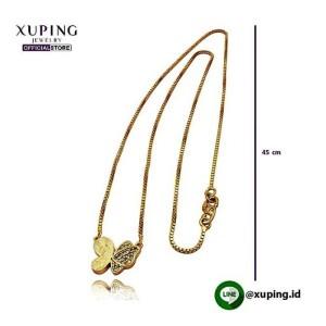 XUPING KALUNG BANDUL KUPU DOLD ZIRCON 45CM 0111190166