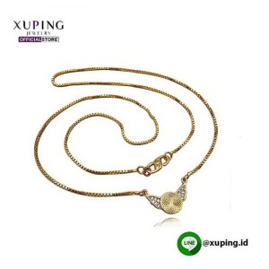 XUPING KALUNG ITALY BANDUL MOTIF GOLD ZIRCON 0111190178