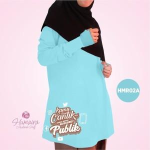 Kaos Dewasa Muslimah Karakter Islami Syar'i IbnuSyamil Clothes HMR02A