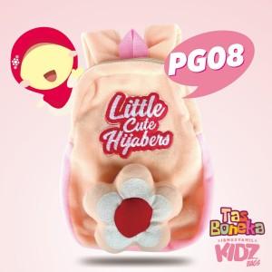 Tas Boneka Anak Karakter Islami Muslimah PG08-Little Cute Hijabers