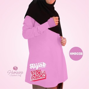 Kaos Dewasa Muslimah Karakter Islami Syar'i IbnuSyamil Clothes HMR03B