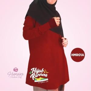 Kaos Dewasa Muslimah Karakter Islami Syar'i IbnuSyamil Clothes HMR01A