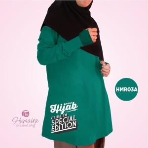 Kaos Dewasa Muslimah Karakter Islami Syar'i IbnuSyamil Clothes HMR03A