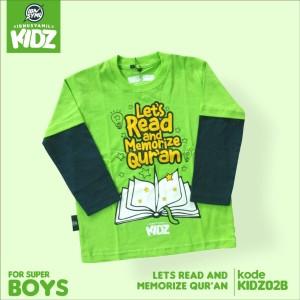 Kaos Anak Muslim Karakter Islami Syar'i IbnuSyamil Clothes KIDZ02B