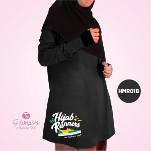 Kaos Dewasa Muslimah Karakter Islami Syar'i IbnuSyamil Clothes HMR01B