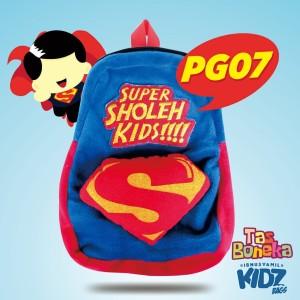 Tas Boneka Anak Karakter Islami PG07-Super Sholeh