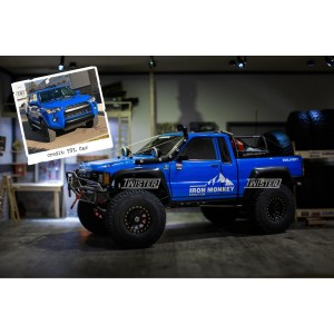 1/10 SCX10ii Toyota Hilux SR5 Expedition - TRD Voodoo Blue - KIT ONLY
