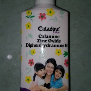 caladine lotion calamine zinc oxide utk biang keringat dan gatal gatal