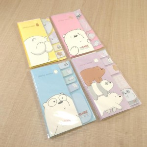 sticky note N1039 we bare bear 4 warna