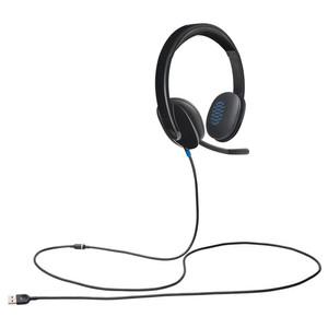 Logitech h540 USB Stereo Headset Headphone Earphone