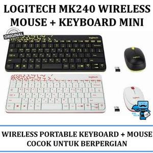 logitech mk240 nano wireless combo keyboard + mouse