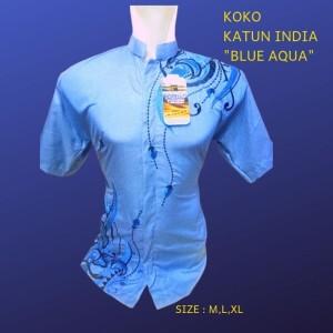 KOKO MURAH MERIAH KATUN INDIA BLUE AQUA