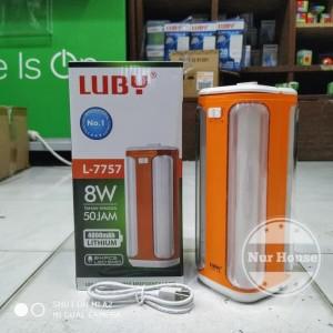 Lampu Emergency Luby L-7757 8 Watt