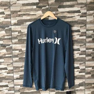 Squadron Blue New Hurley Icon SS Surf Shirt