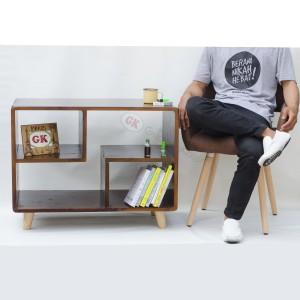 Meja tamu kayu jati belanda model jadul (vintage )