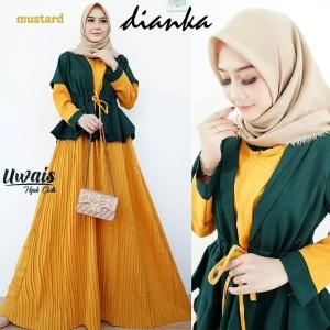 FASHION DRESS MUSLIM DIANKA DRESS