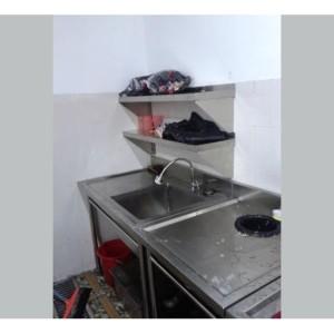 LANDING DISH AND SINGLE SINK Landing Dish Anda Single Sink