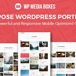 WP Media Boxes Portofolio.