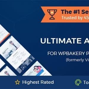 Addons Ultimate untuk WPBakery Page Builder.