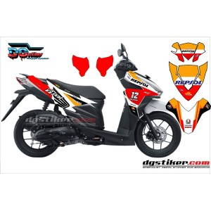 Decal Sticker Vario 150 Repsol DG Stiker