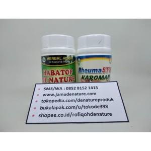 Obat Herbal Rematik Otot Tegang Pegal Pegal DE NATURE