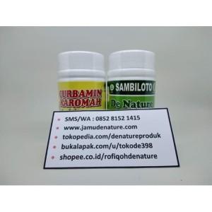 Obat Amandel/Radang Amandel Herbal Alami De Nature
