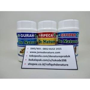 Obat Paru Paru/ TBC Herbal Alami De Nature