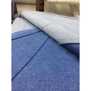 Jual Bahan Jeans/Denim Biru 12/12,5oz Non stretch+Jaket+Celana Dll