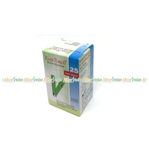 STRIP GULA EASY TOUCH GLUCOSE ISI 25 PER BOX ORIGINAL