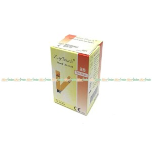 STRIP ASAM URAT EASY TOUCH URIC ACID ISI 25 PER BOX