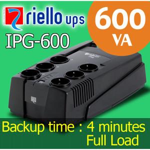UPS Riello IPG-600 (600VA)