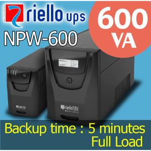 UPS Riello NPW-600 (600VA)