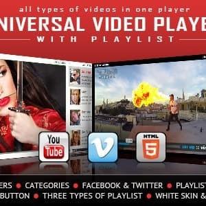 Universal Video Player - Plugin WordPress