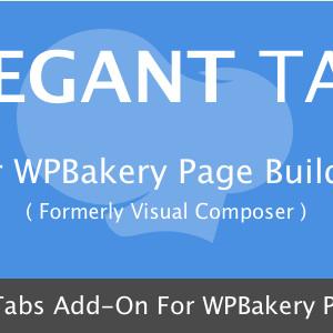 Tab Elegan untuk WPBakery Page Builder.